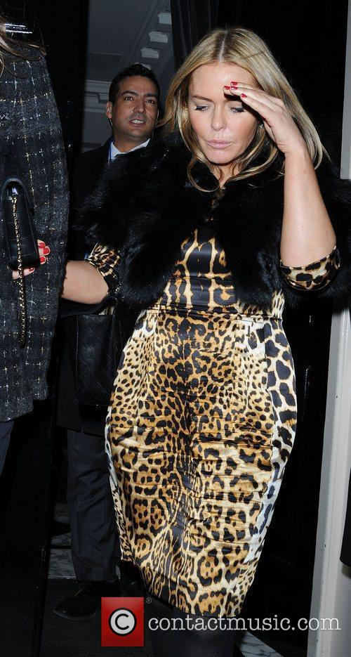 patsy kensit leaves the arts club in 3779704