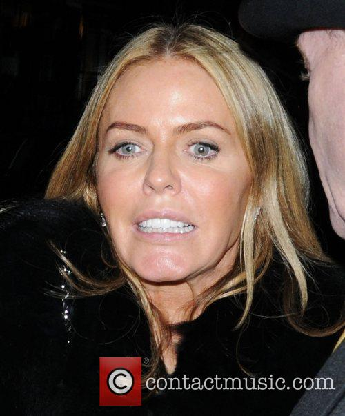 Patsy Kensit leaves The Arts Club in a...