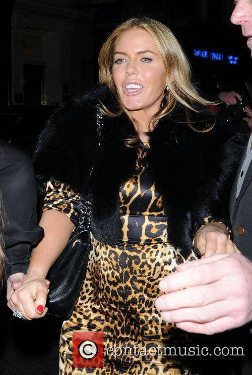 patsy kensit leaves the arts club in 3779709
