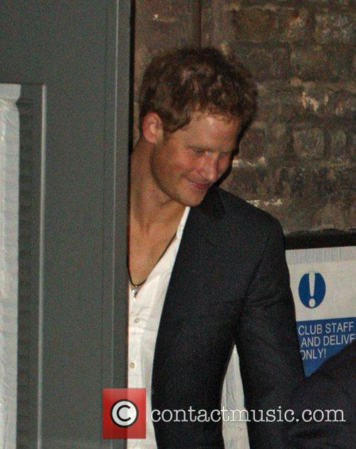 prince harry leaving the arts club in 3663512