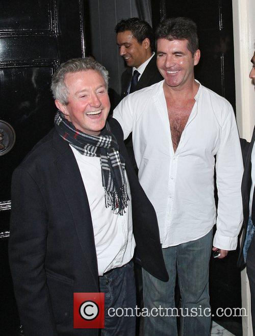 Simon Cowell and Louis Walsh 5
