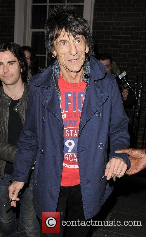 ronnie wood leaving the arts club london 3803923