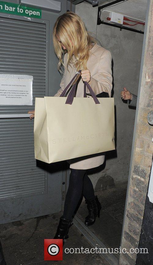 Gwyneth Paltrow leaving The Arts Club. London, 31.01.12