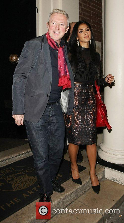 louis walsh and nicole scherzinger leaving the 4119561