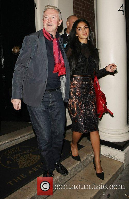louis walsh and nicole scherzinger leaving the 4119562