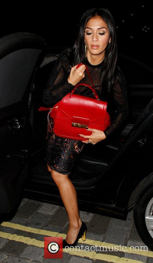 Louis Walsh, Nicole Scherzinger, Arts Club and Mayfair 6