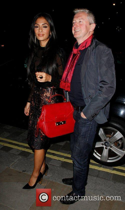 Louis Walsh, Nicole Scherzinger, Arts Club and Mayfair 1