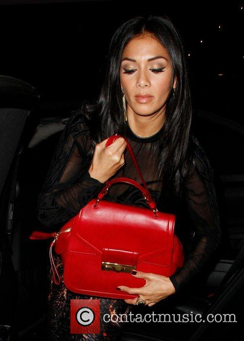 Louis Walsh, Nicole Scherzinger, Arts Club and Mayfair 4