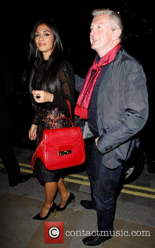 Louis Walsh, Nicole Scherzinger, Arts Club and Mayfair 7