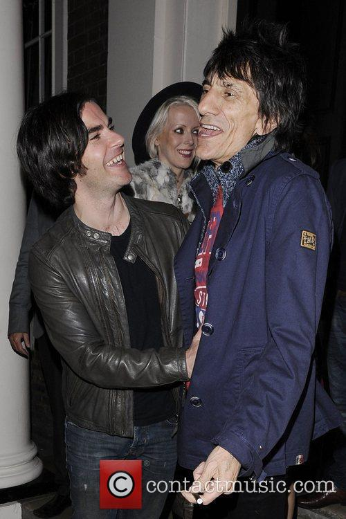 Ronnie Wood and Kelly Jones 3