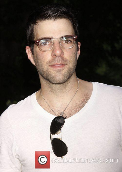 Zachary Quinto  Opening night of The Public...