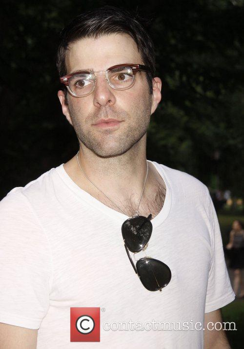 Zachary Quinto and Central Park 1