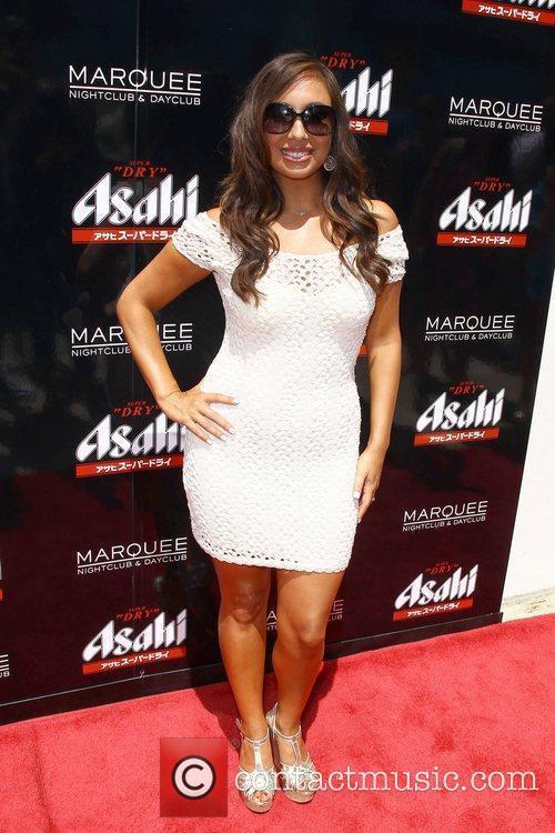 Cheryl Burke Asahi Summer Takeover at Marquee Nightclub...