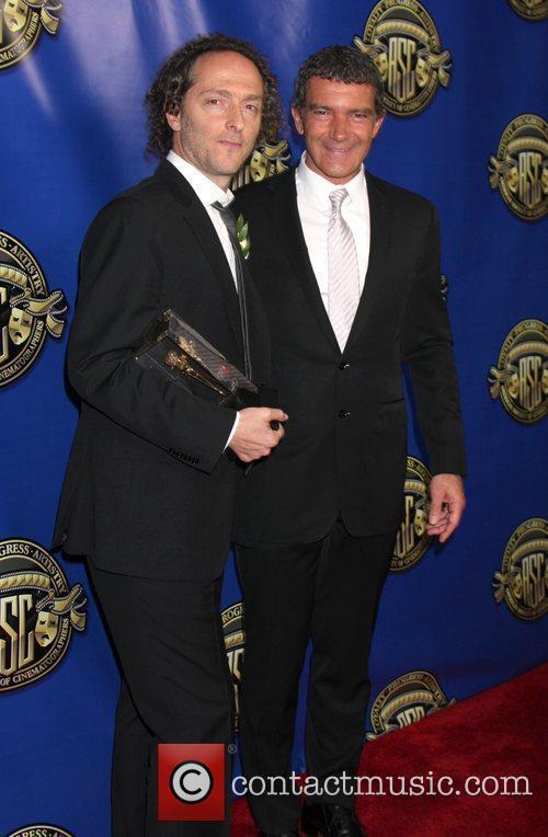 Emmanuel Lubezki and Antonio Banderas The 2012 American...
