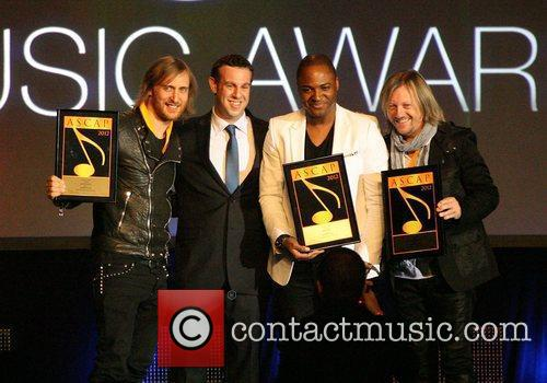 David Guetta and Taio Cruz 29th Annual ASCAP...