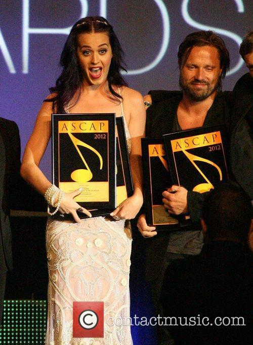 Katy Perry and Max Martin 29th Annual ASCAP...