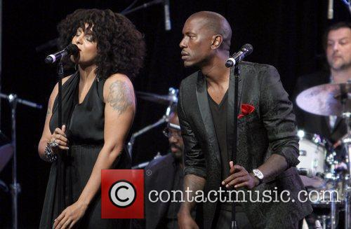 Marsha Ambrosius, Tyrese Gibson and Beverly Hilton Hotel 2