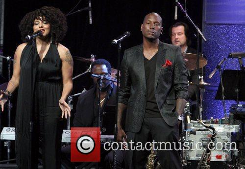 Marsha Ambrosius, Tyrese Gibson and Beverly Hilton Hotel 3
