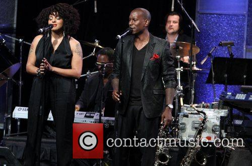Marsha Ambrosius, Tyrese Gibson and Beverly Hilton Hotel 4