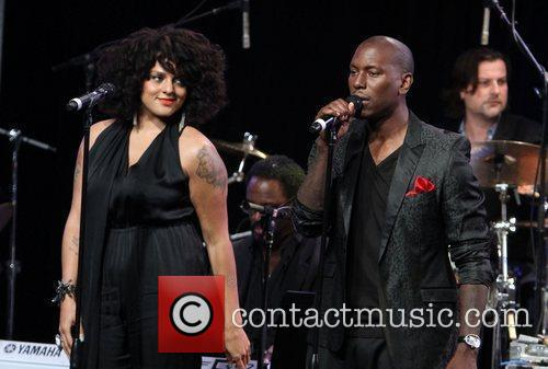 Marsha Ambrosius, Tyrese Gibson and Beverly Hilton Hotel 1