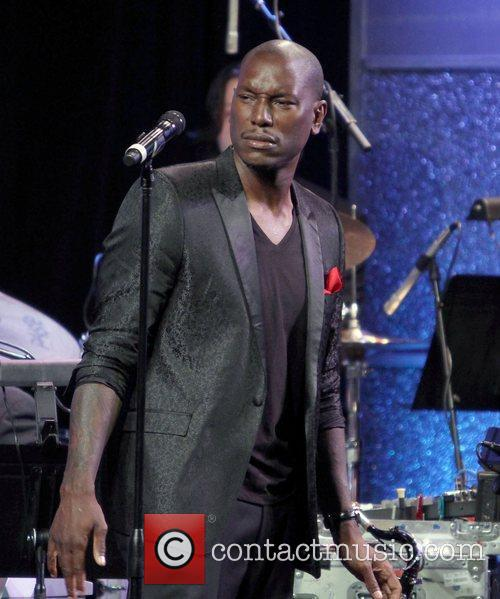 Tyrese Gibson, Paul Williams and Beverly Hilton Hotel 2