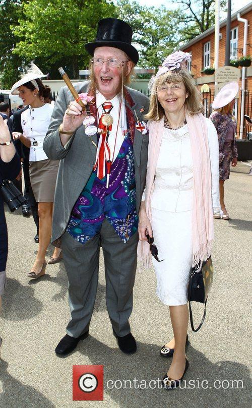 John McCririck and Guest Royal Ascot at Ascot...