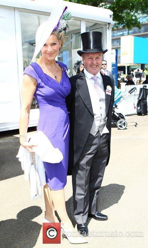 Jonjo O'Neill and Guest Royal Ascot at Ascot...