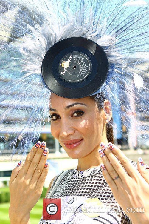 Sofia Hayat Royal Ascot at Ascot Racecourse -...
