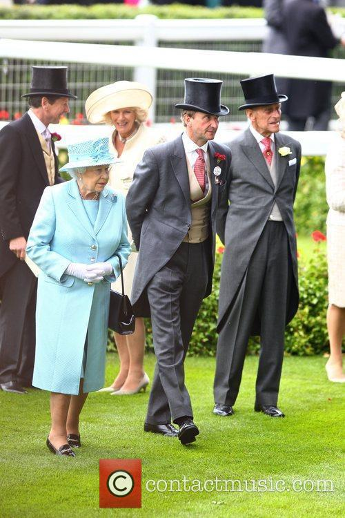 Queen Elizabeth II, Prince Philip, The Duchess Of Cornwall