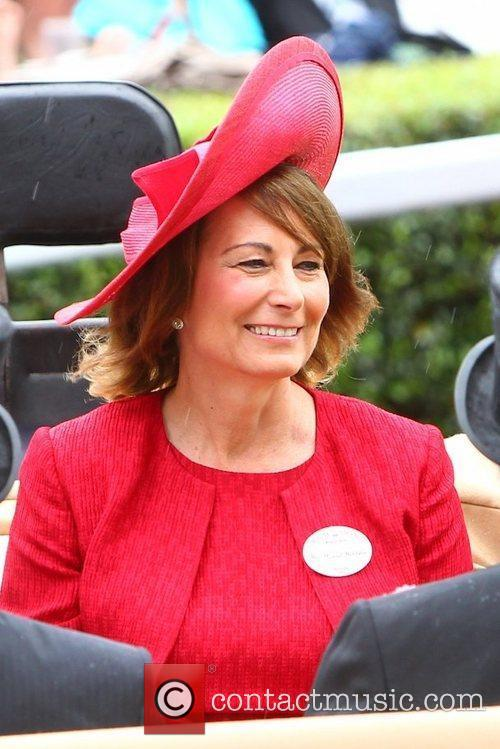 Carole Middleton  Royal Ascot at Ascot Racecourse...