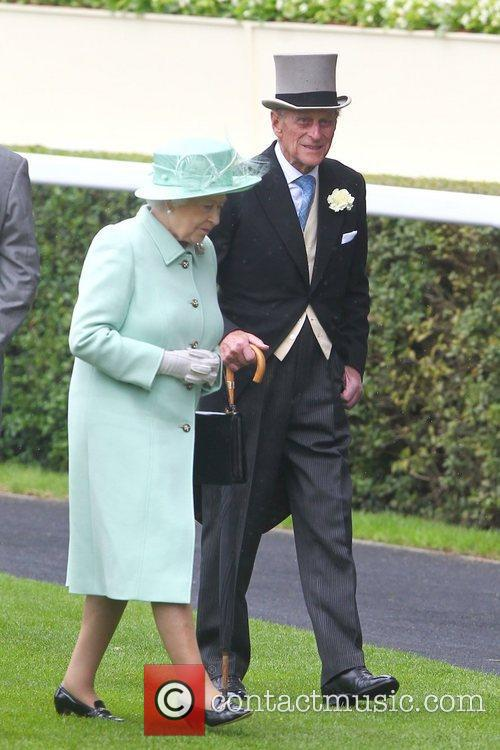 Queen Elizabeth Ii, Prince Philip and Royal Ascot 2