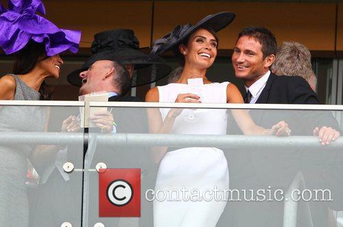 Christine Bleakley and Frank Lampard, Frank celebrates his...