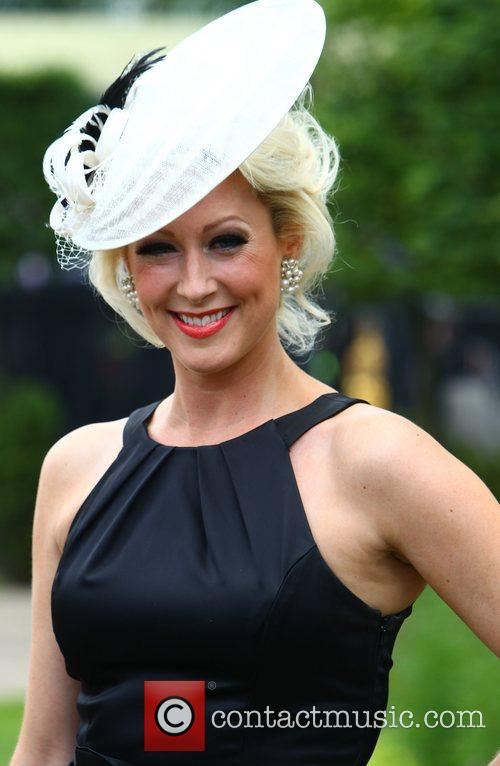 Claire Richards Royal Ascot at Ascot Racecourse -...