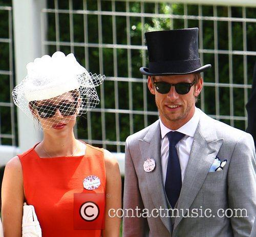 Jenson Button and Royal Ascot 3