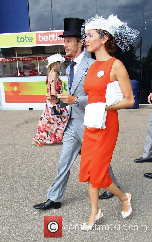 Jenson Button and Royal Ascot 1