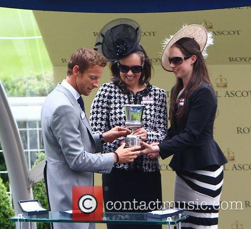 Jenson Button and Royal Ascot 6