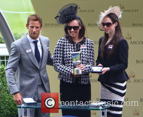 Jenson Button and Royal Ascot 7