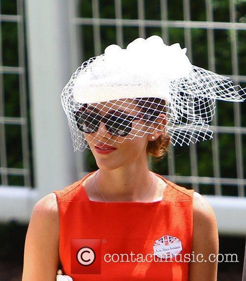 Jessica Michibata Royal Ascot at Ascot Racecourse -...