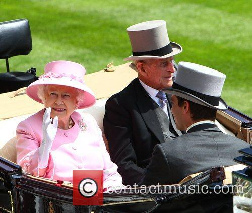 queen elizabeth prince philip royal ascot at 3954372
