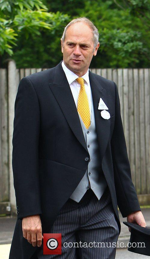 Sir Steve Redgrave Royal Ascot at Ascot Racecourse...