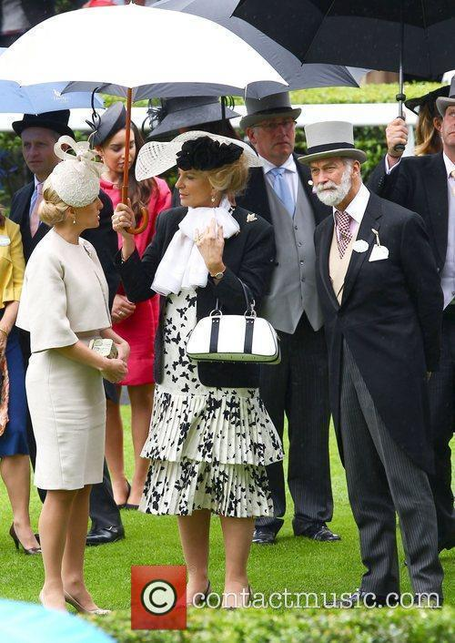 Sophie, Countess of Wessex and Princess Michael of...