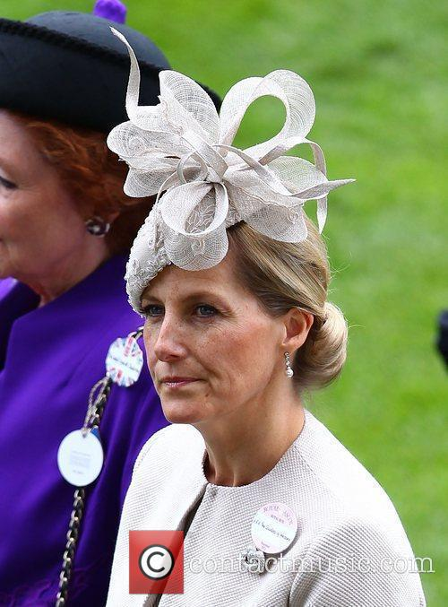 Sophie, Countess of Wessex Royal Ascot at Ascot...