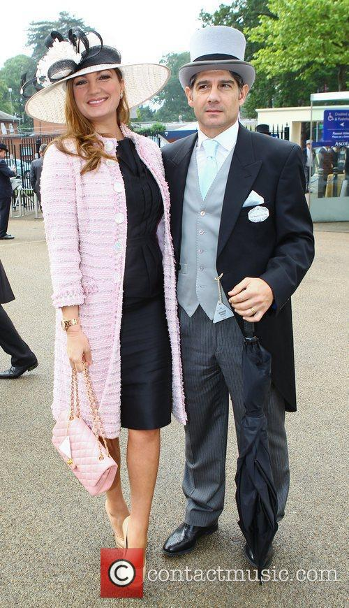Karen Brady and her husband Paul Peschisolido Royal...