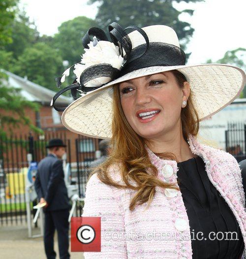 Karen Brady Royal Ascot at Ascot Racecourse -...