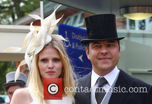 David Walliams and Lara Stone 11