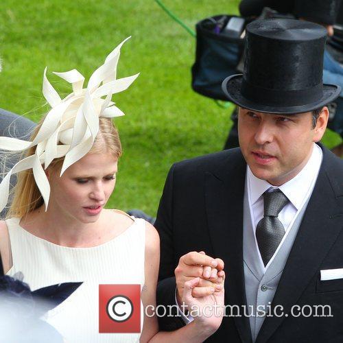 david walliams and lara stone royal ascot 3958590