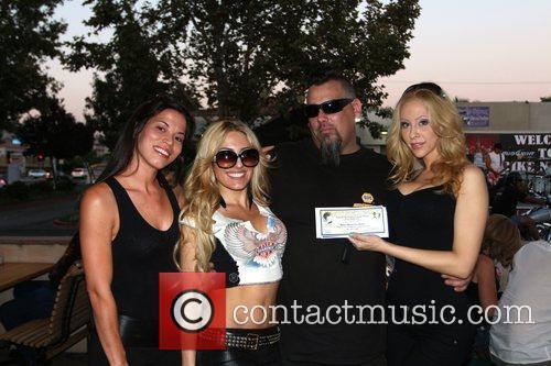 Britney Hosken, Ashlee Ricci and Kate Racz Bike...