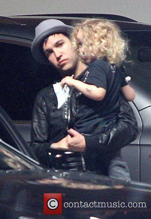 Fall Out Boy, Jessica Simpson and Pete Wentz 2