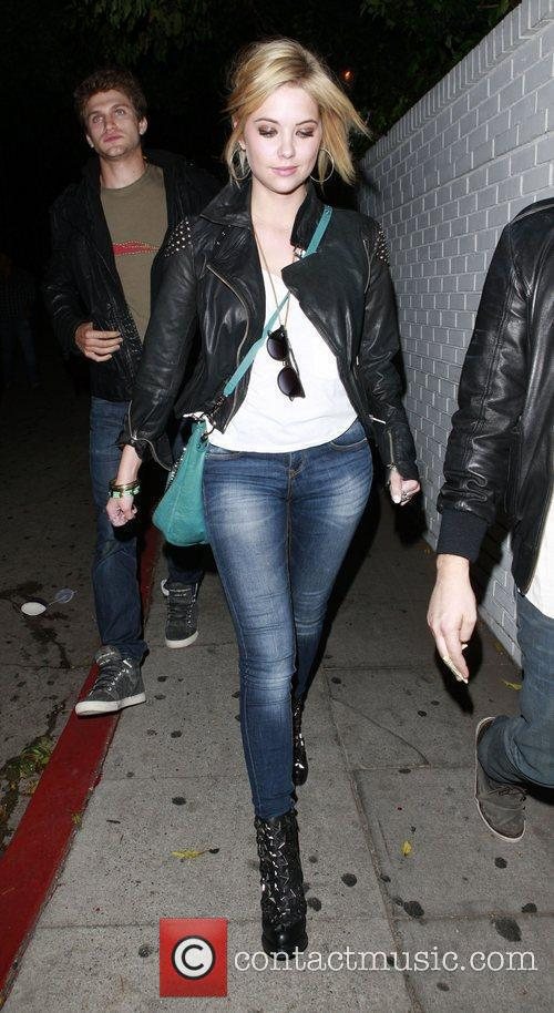 Ashley Benson leaving Chateau Marmont Los Angeles, California