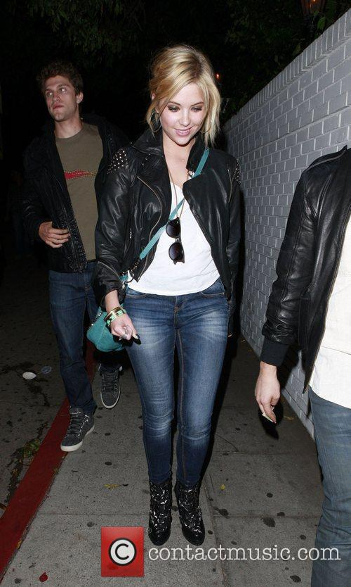 Ashley Benson leaving Chateau Marmont